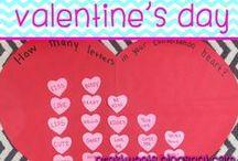 Valentine's Day / Valentine's Day crafts, activities, and center ideas!