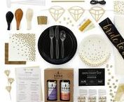Ultimate Elegant Hen's Party Kit / Curated in collaboration with Party Affairs - this gorgeous selection of Hen's Party items take the pain out of party planning.