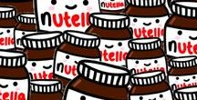 Nutella Themed 30th! / Planning board for my relaxed, but delicious, Nutella themed 30th birthday!