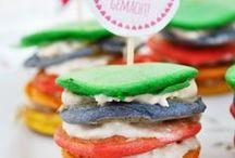 kreatives Kinderessen / Tolle Snacks und Rezepte für Kinder. Kreatives Essen, das jedes Kind begeistert.
