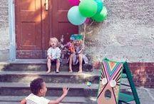 Party Spiele / Ihr plant eine Party mit Kindern? Egal ob Kindergeburtstag, Taufe oder Kindergartenfest: Hier findet Ihr Spielideen