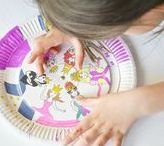 Basteln mit Papptellern und Eierkarton / Basteln mit Papptellern: Eine einfache, aber tolle Beschäftigung mit Kindern. Hier findet Ihr wunderschöne und kreative Bastelideen aus wenigen Materialien.