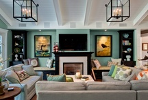 Living Areas / by Candice Brewer