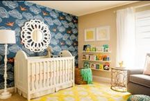 Nursery Decor Ideas / I may not have a baby, but it doesn't stop me from designing a nursery. / by Alexis Sawtelle
