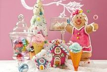 Christmas sweets & gingerbread decorations / Our Christmas Candy Land & Gingerbread decorations / by Jessica Carpenter