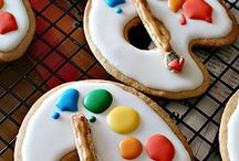 Iced Cookies / Cookies with beautiful iced designs