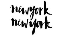 New York, New York! / One fine day I would love to live in New York city!