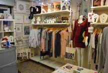 LA LA LAND Boutique, Glasgow, Scotland. / I love my wee shop in De Courcy's Arcade, in Glasgow's west end.