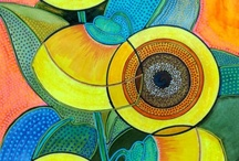 My Art / I get a kick out of playing with colors / by Magda van der Linde