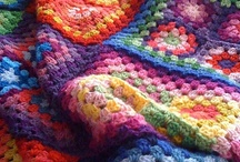 ♥ Granny Crochet!! ♥ Community Board / Crocheted grannies squares, circles, hexagons . . . They're hard to resist! Please pin your favorite patterns, tutorials, color ideas--anything to inspire the rest of us! If you'd like an invite so that you can post on the board, send me (Lori) an email at lverb23@gmail.com. Happy pinning!