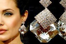 Bling Earrings / Bling Earrings with Crystals