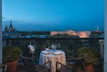 The Heart of St Petersburg / Great cultural attractions surround Grand Hotel Europe: positioned on Nevsky Prospekt, it sits at the heart of St Petersburg life. / by Belmond