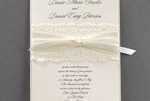 LACE WEDDING INVITATIONS! / Lace wedding invitations offer a classic, romantic look! http://foreverfriendsfinestationeryandfavors.com