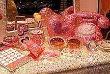 Bling Bathrooms / Bling Bathrooms with Crystals