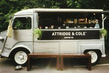 ON WHEELS / mobile shop, traveling store, shop on wheels, food trucks, pop up shops, airstreams