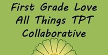 All Things TPT / Here is a place you can pin All Things TPT related to the primary classroom.  You can find math, reading, language arts, science, social studies and more!