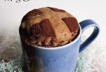 Mug Cakes / Bake a single portion cake in a mug in the microwave