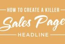 Blogging: Sales Pages & Copywriting