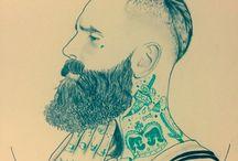 Oceane porcher / Tous styles de graphismes  comme du réaliste mais aussi toute sorte de style pour tatouage comme old school, new school etc...