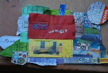 Jenni's work / Collages réalisés par mon amie Jenni Barnes