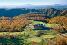 Primland Resort / Primland offers refined accommodations including the 26-room Lodge, Fairway Cottages, rustic Mountain Homes and spectacular Tree Houses.