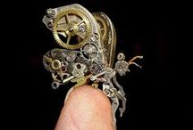 Steampunk, Goth.. / Inspiration for jewelry and art projects...And for life itself <3