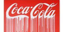 Quadri moderni Coca Cola / Quadri moderni realizzati su tela rappresentati il logo Coca Cola