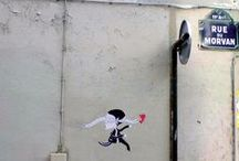 FRED LE CHEVALIER STREET ART