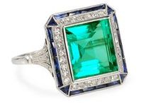 Deep Within - Glorious Gemstones / Gemstones mined from the earth with exceptional color, size or sheer chic