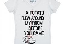 T-Shirts that I must have / These are just T-shirts that must materialize into my life. (: / by Kartoffel .