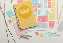 journal // planner / awesome planner design, journal entry ideas, sticky notes, stickers, neon markers, gaahh!!
