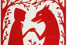 ATTENTI AL LUPO Little Red Riding Hood Cappuccetto Rosso  Le Petit Chaperon rouge