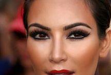 makeup a'la Kim Kardashian