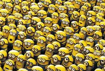 Minions and Despicable Me / Lots of super funny minions!! / by Graceanne Hanson