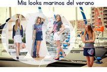 Navy Style / El Estilo Marinero es indispensable para el verano. Aquí tienes algunas ideas. Navy Style is a MUST for Summer. Here you have some ideas