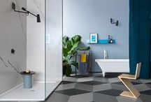 Introduce colour to your bathroom! / From coloured tapware to designer basins... add a splash of colour to your bathroom!