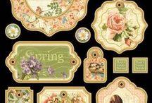 Wallpaper / Ornamento / Pattern