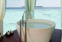 Inspirational Bathrooms / Get ideas, find a look... these are some inspirational bathrooms to get those creative ideas flowing!