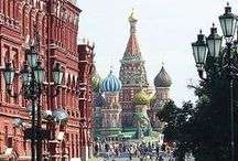 "Moscow / ""Moscow is a huge inspiration for me. I love what I find here, I love being here."" Natalia Vodianova"