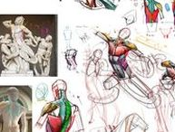 ++ Figurative Tutorials /  Figurative Tutorials , How to Draw the Human Figure , How to Draw People, Drawing Human Figure Tutorials