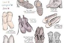 ++ Figurative Feet /  Figurative Feet , Inspiration and Resources on How to Draw Feet, Legs & Feet Studies by Artists and Feet Models Inspiration for Artists, Illustrators and Designers