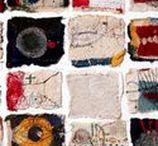 ++ Textiles /  Textiles, Artist Study on Textile Artists Mixed Media Artists with Textile Incorporation, How to Stitch Art, Mixed Media Textile Art