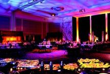 "Portland Ballroom / OCC""s Portland Ballroom is the largest ballroom in Oregon, featuring 28' high ceilings and distinctive light fixtures. The Portland Ballroom is 34,000 square feet in total and can be divided into 8 different sections."