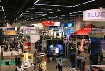 Exhibit Halls / The Oregon Convention Center offers five highly adaptable exhibit spaces. Each exhibit hall contains its own restrooms, concession stands, and large roll-up doors for easy access from the loading dock.