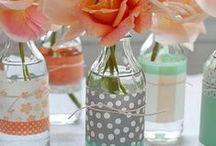 DIY esküvő / ötletek esküvők dekorálásához