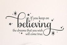 ****BELIEVE**** / All things magical <3
