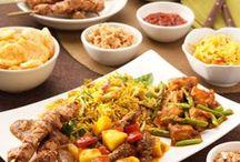 Chinese/indisch eten.