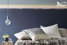 Blue / Be bold with blue as it has such a sophisticated, luxurious feeling to it and it can be used in so many ways.