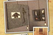 DenimArt by Marta Cellini / Le mie opere artistiche create con il tessuto denim. Dei veri e propri quadri da appendere!