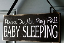 Getting Babies to Sleep / A board all about getting babies to sleep with a little light humour thrown in.